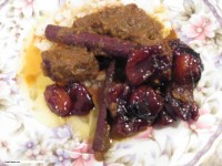 Chicken with Apricots / Jardalu ma Marghi