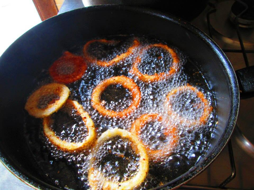 Fry in Hot Oil