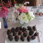 Happy Mother's Day! & Chocolate Strawberries.