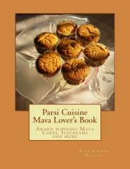 Cake Lovers: Indian Mava Cakes and other traditional pastries If you have a sweet tooth and a liking for mava (an Indian version of ricotta cheese) this cookbook is for you. Paperback available worldwide and a eBook for India.