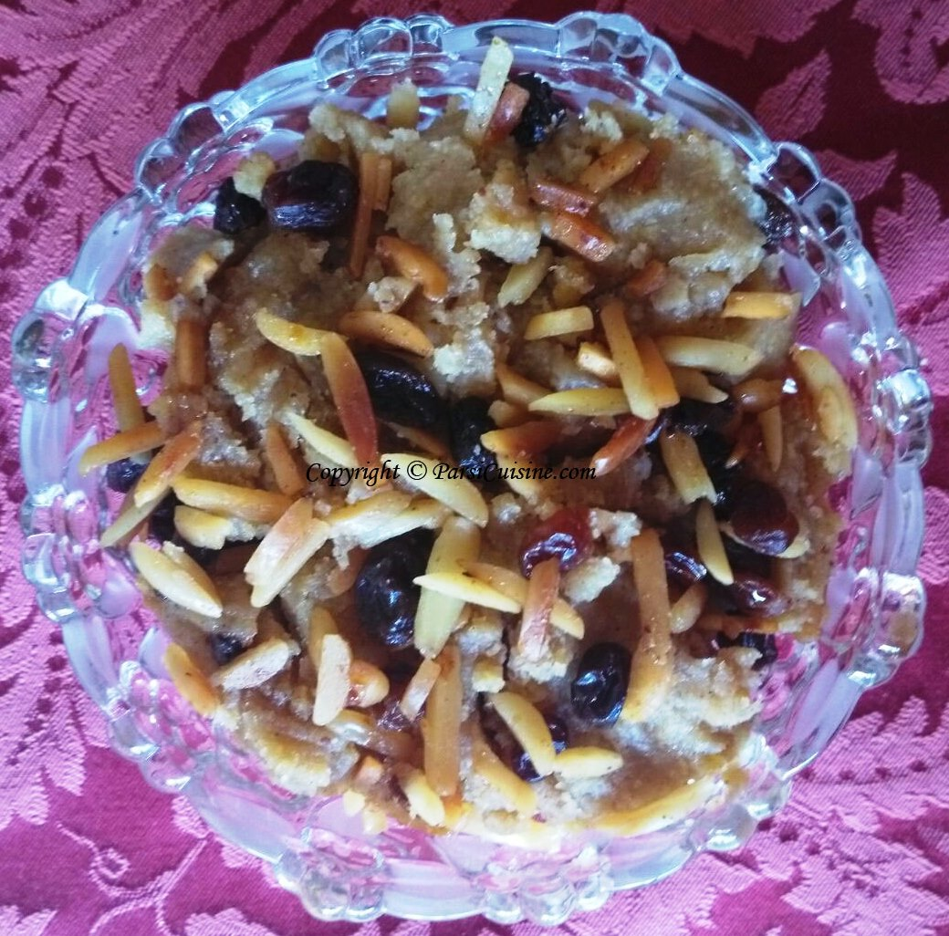 Malido is a speciality of ours. Made from pure ingredients with flour, eggs, nutmeg, cardamon and garnished with fried or roasted almonds and raisins. Cherries can be added if desired.