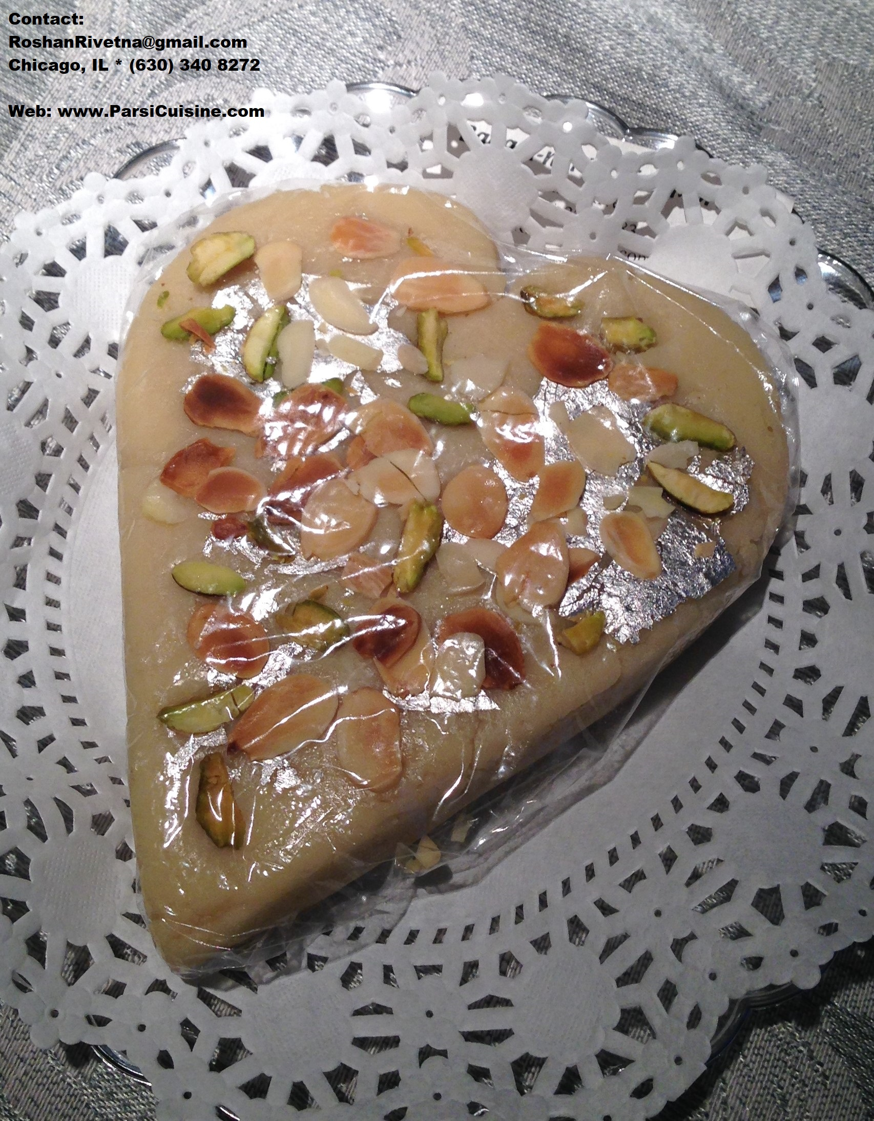 Heart-shaped Marzipan Penda